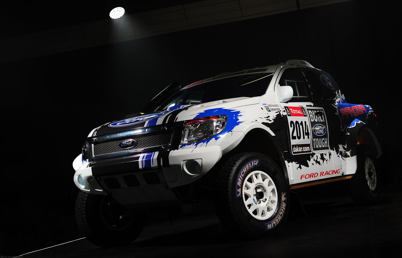 ford to enter 2014 dakar rally with mustang powered ranger pickup. Black Bedroom Furniture Sets. Home Design Ideas