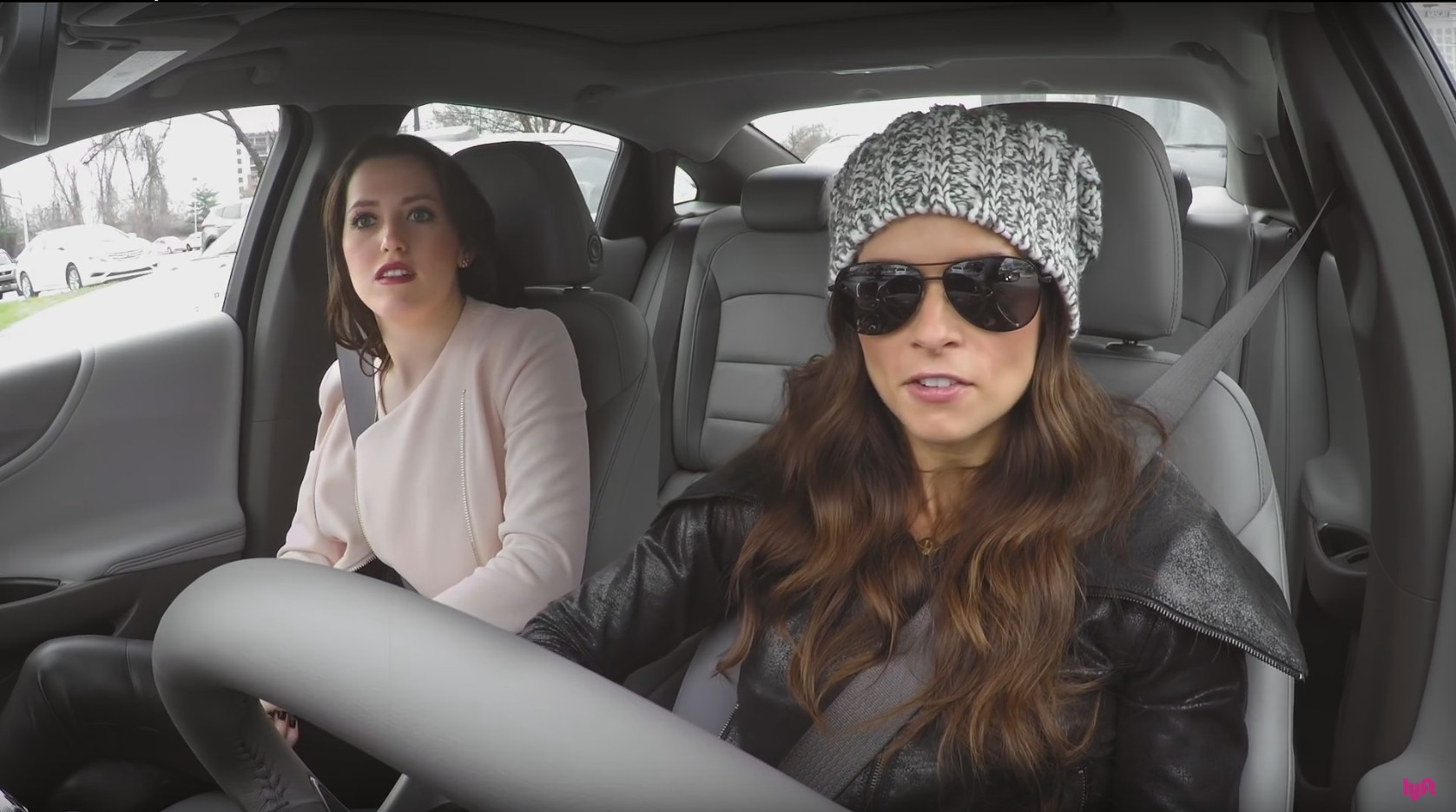 Danica Patrick Goes Undercover As Lyft Driver Video