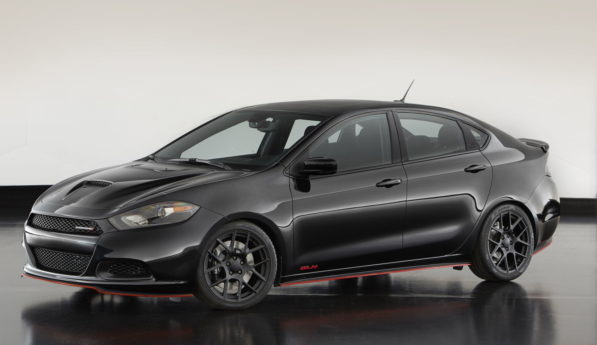 dodge dart glh concept revealed production version rumored. Black Bedroom Furniture Sets. Home Design Ideas