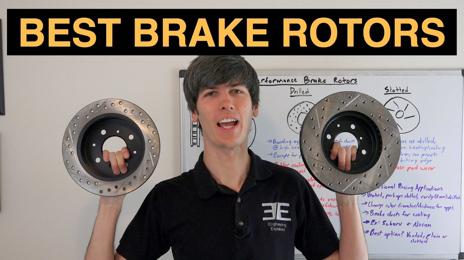 Drilled Slotted Or Vented Which Brake Rotors Are Best