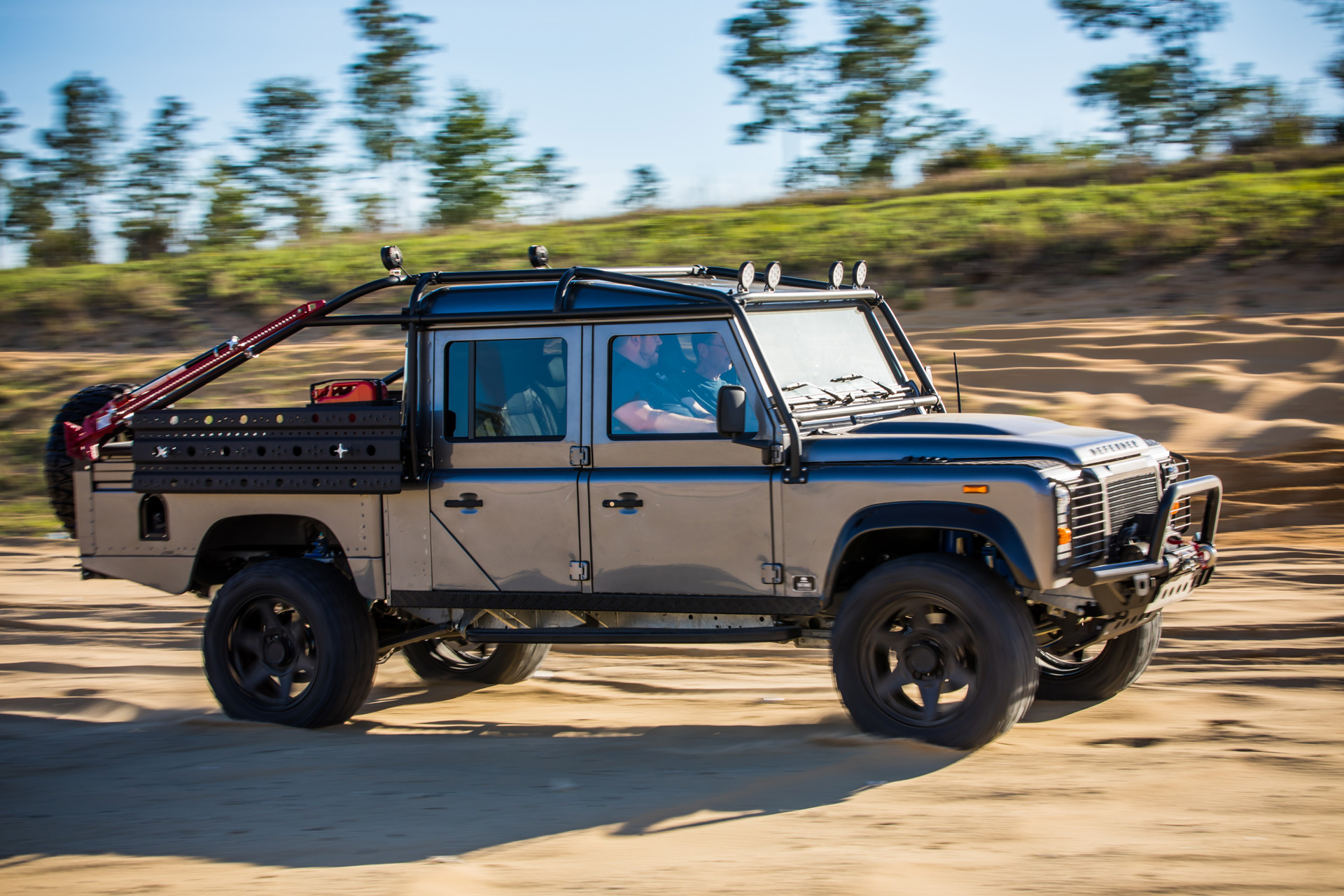 East Coast Defender Offering V 8 Powered Land Rover