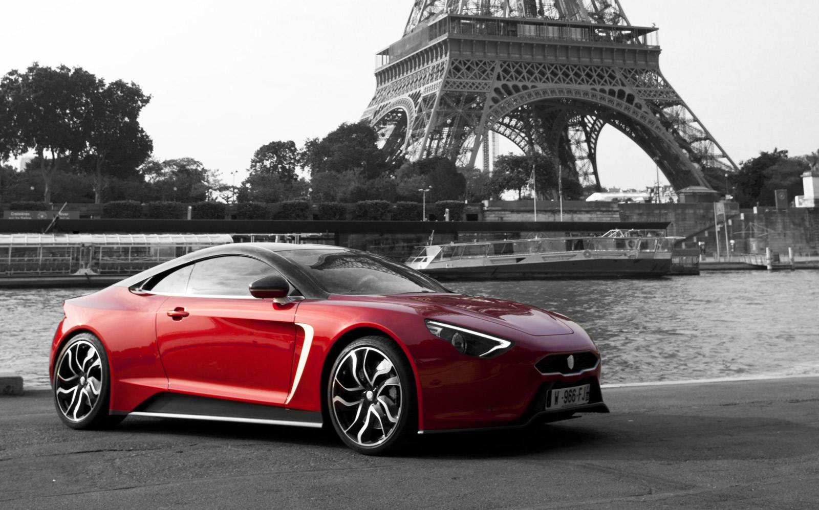 Exagon Furtive Egt Electric Sports Car Revealed In