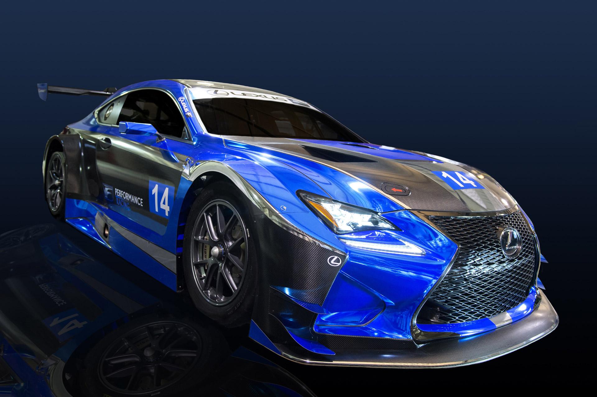 Lexus To Enter Imsa Weathertech Sportscar Championship With Rc F Gt3