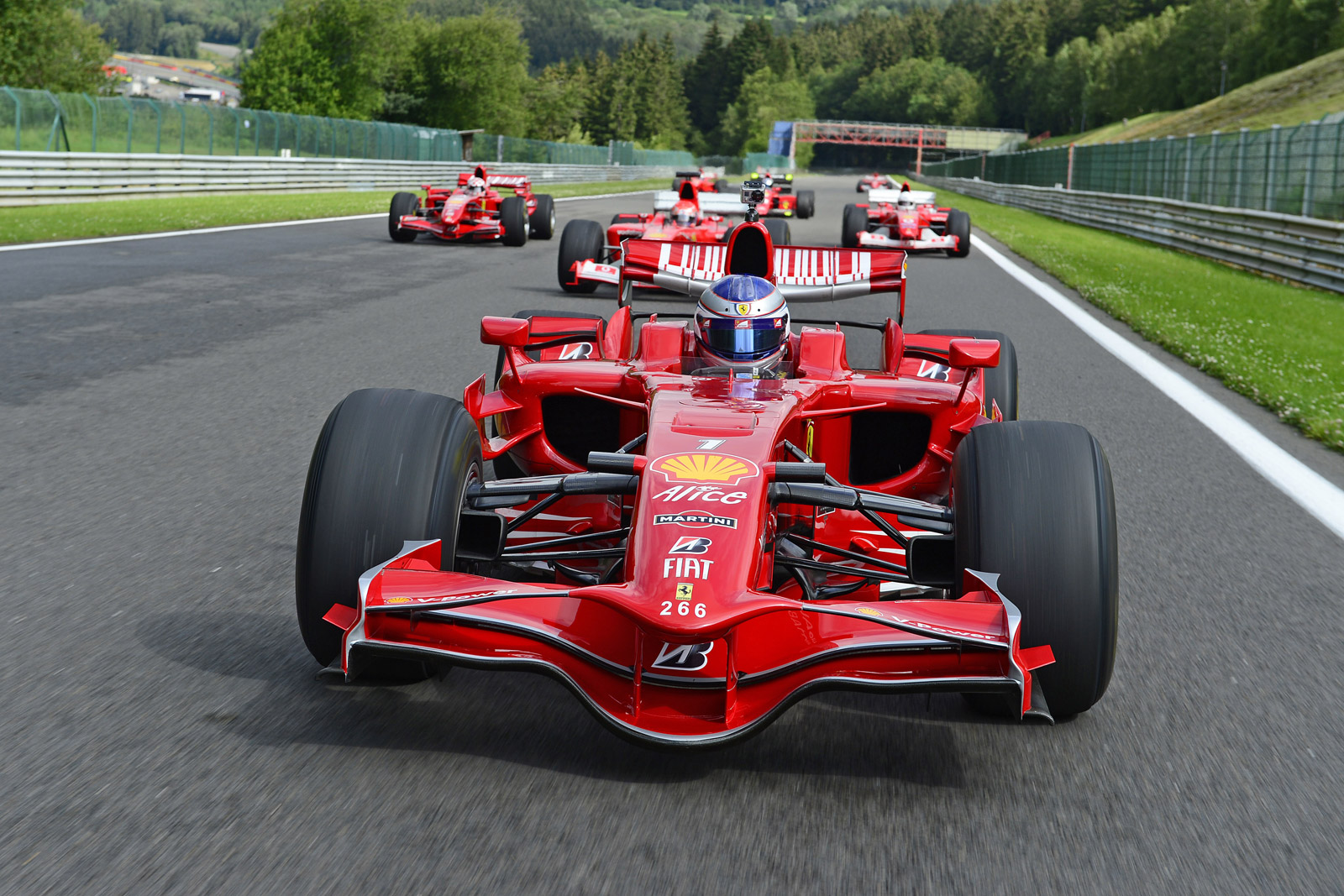 Ferrari Forms New Sporting Activities Department