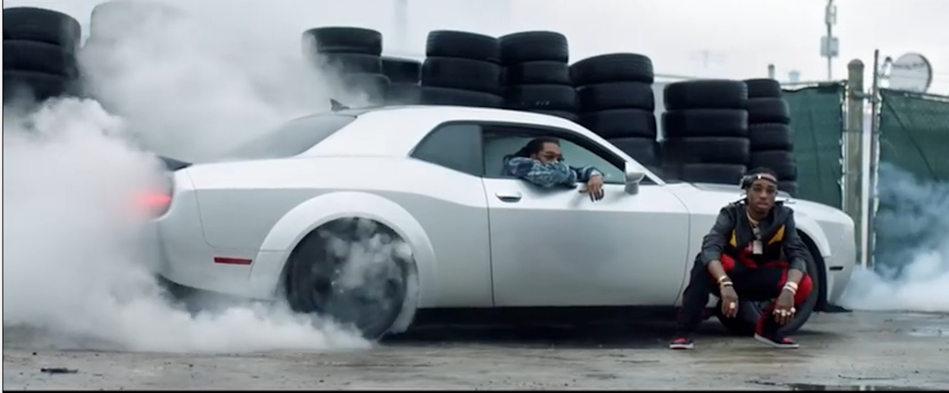 39 the fate of the furious 39 music video features the dodge demon. Black Bedroom Furniture Sets. Home Design Ideas