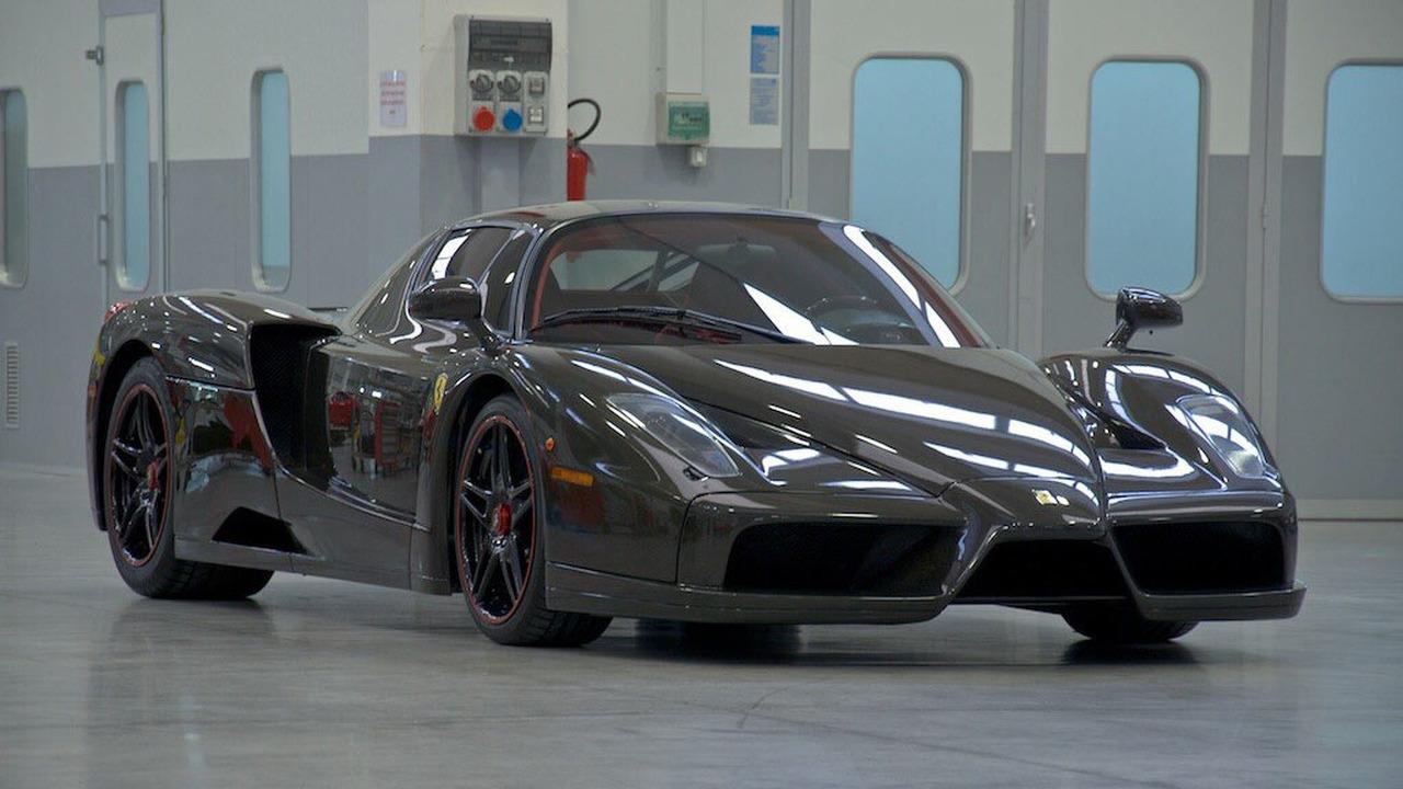 Exposed Carbon Fiber Ferrari Enzo Up For Sale