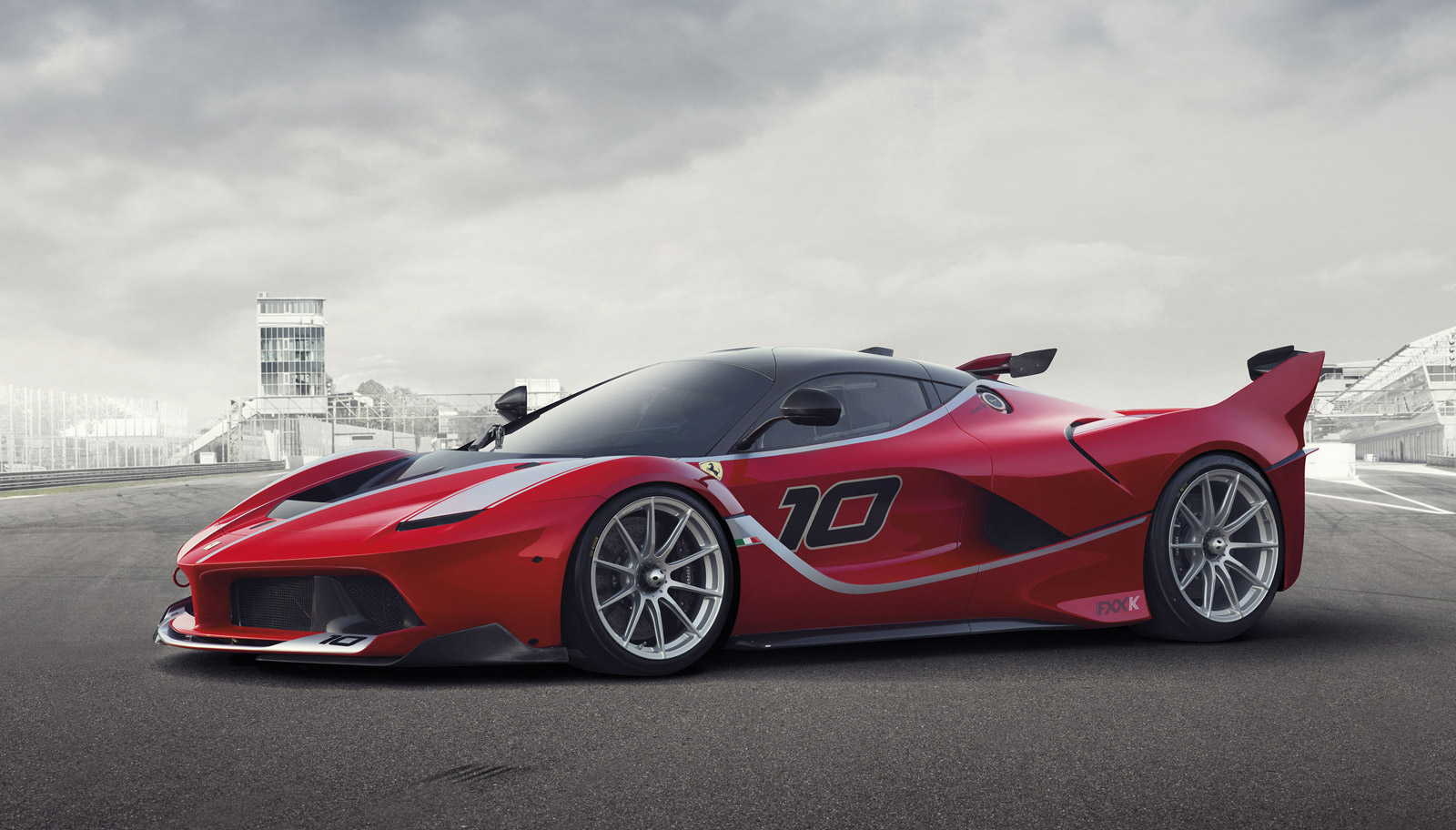ferrari laferrari fxx k revealed. Black Bedroom Furniture Sets. Home Design Ideas