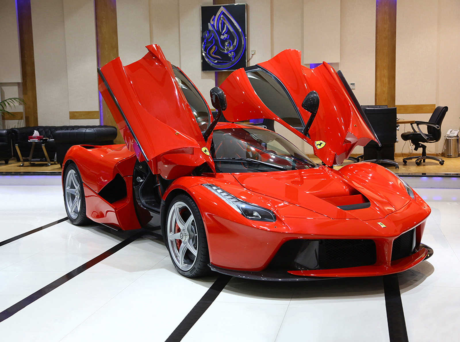another week another laferrari goes up for sale
