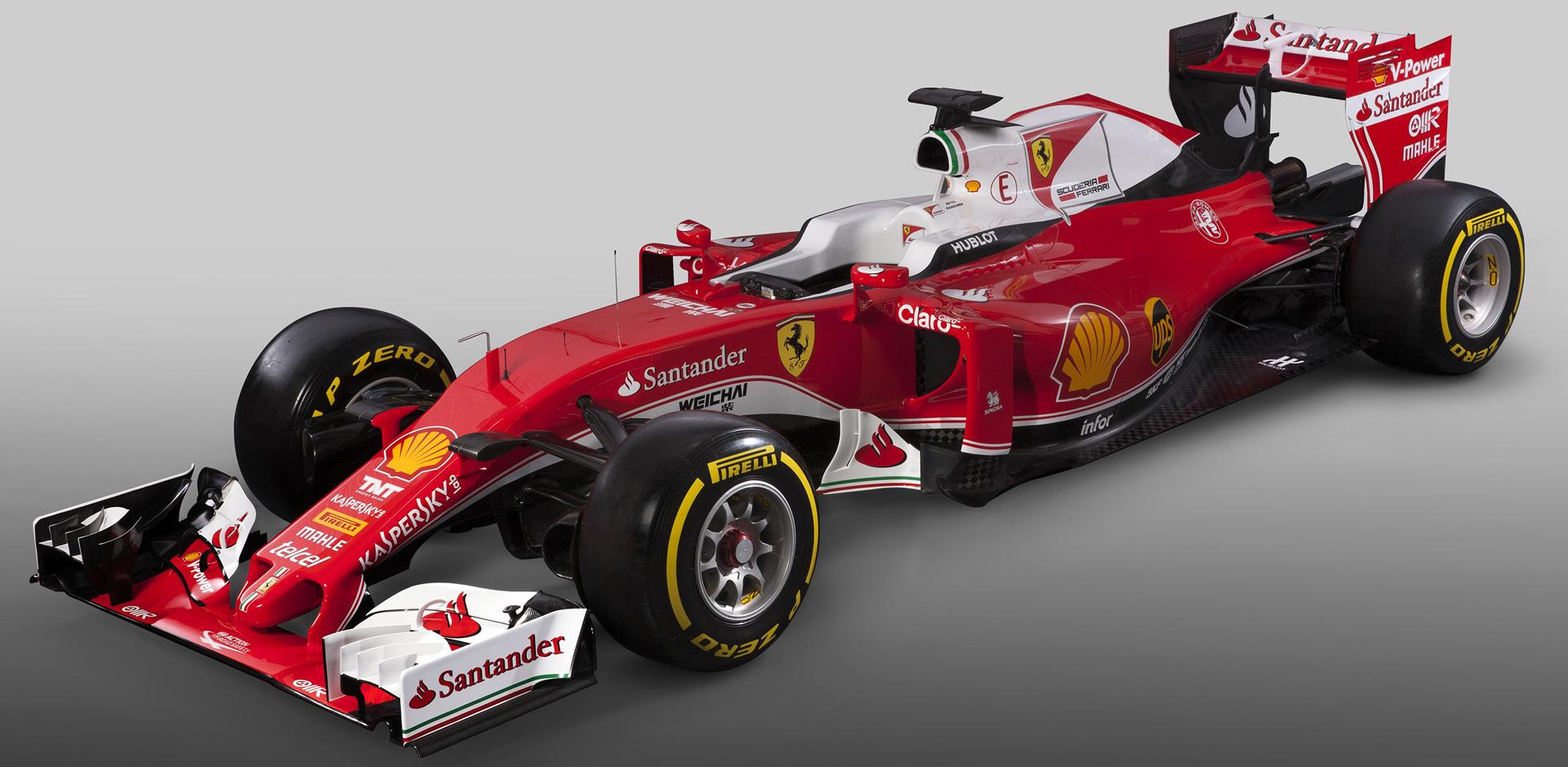 Ferrari's race car for the 2016 F1 season is the SF16-H