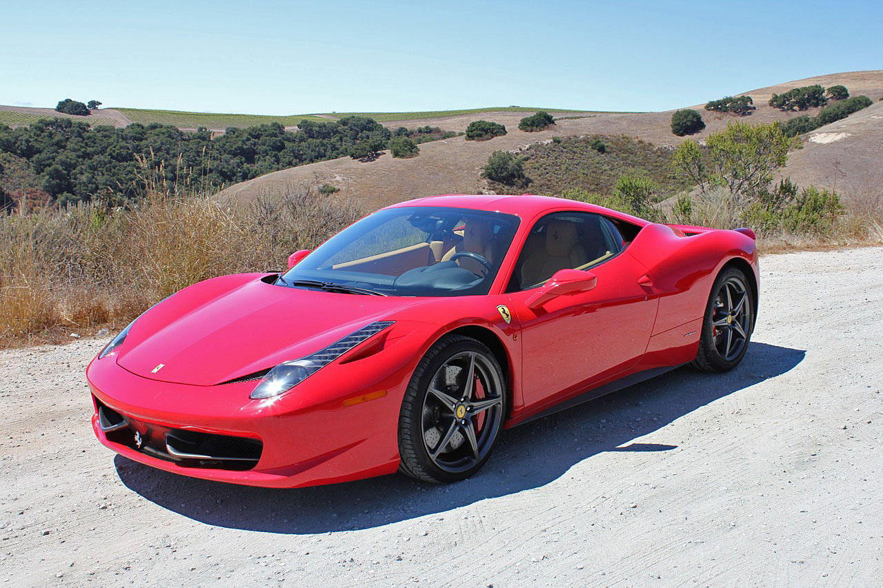 2010 ferrari 458 italia first drive review vanachro Images