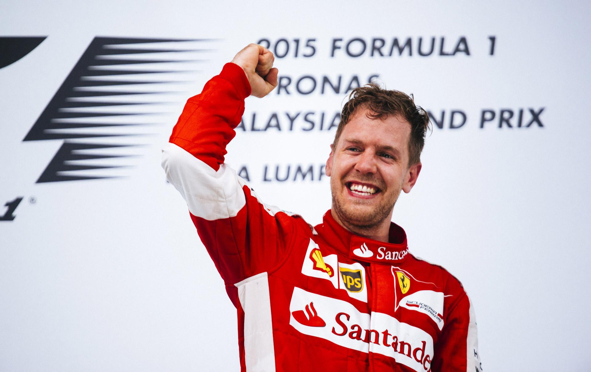 Sebastian Vettel Secures Ferrari's First F1 Win Since 2013 ...