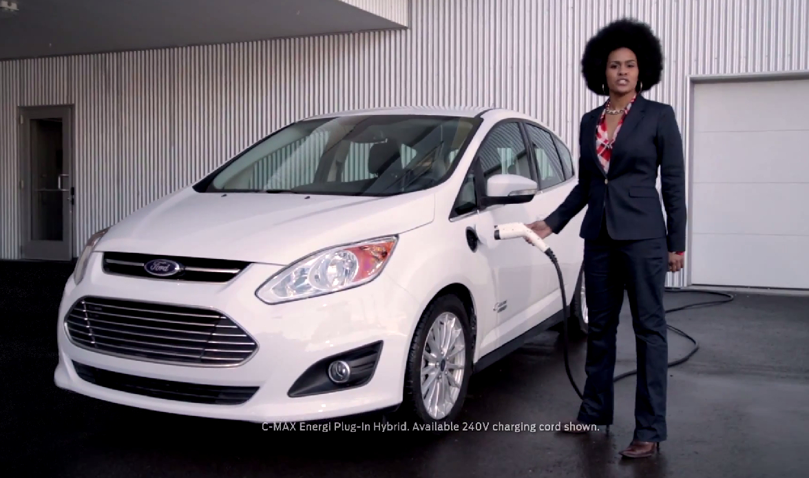 Ford Parodies Caddy's Poolside Ad Using Ford C-Max Energi: Video