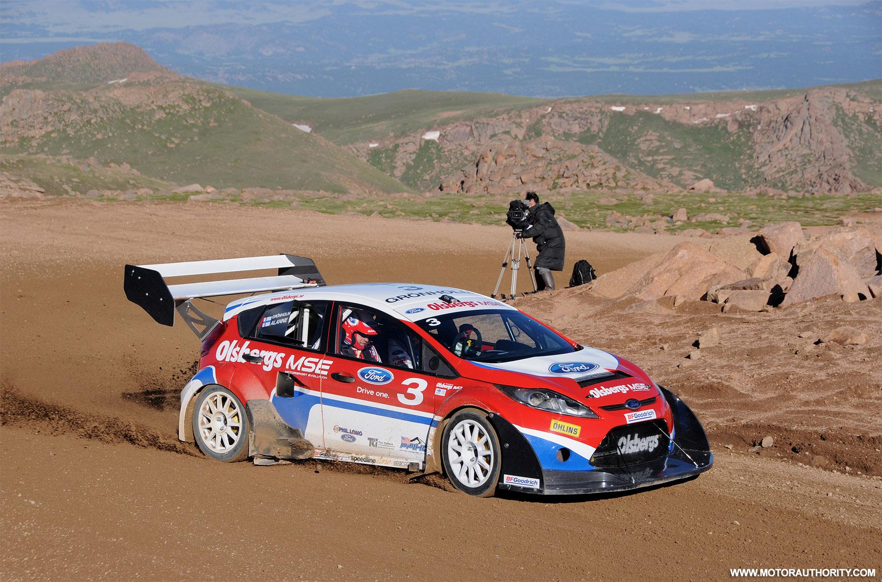 Video Ford Fiesta Rallycross Preps For Pikes Peak Hill Climb