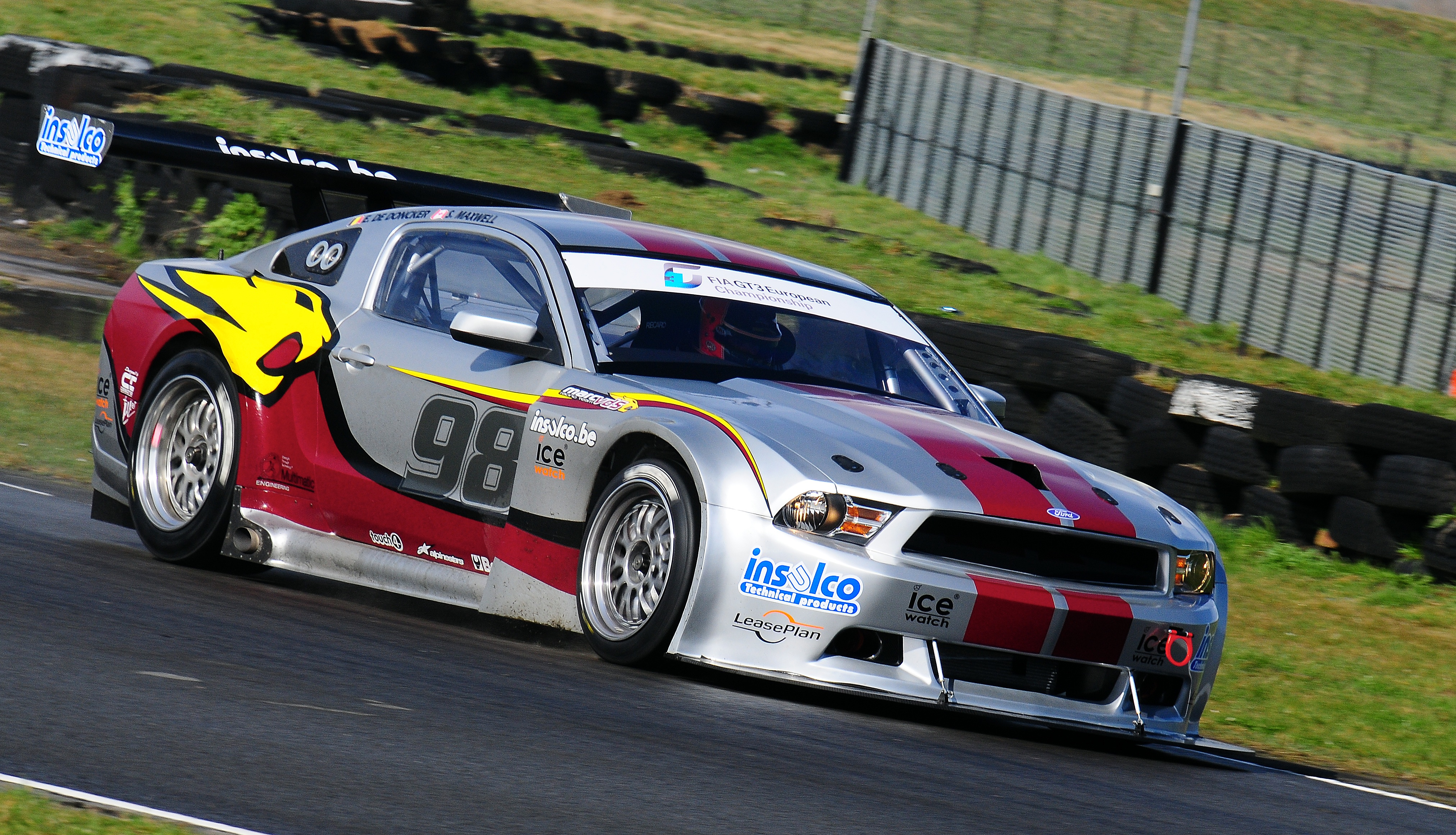 2011 Ford Mustang To Take On Gt3 European Championship
