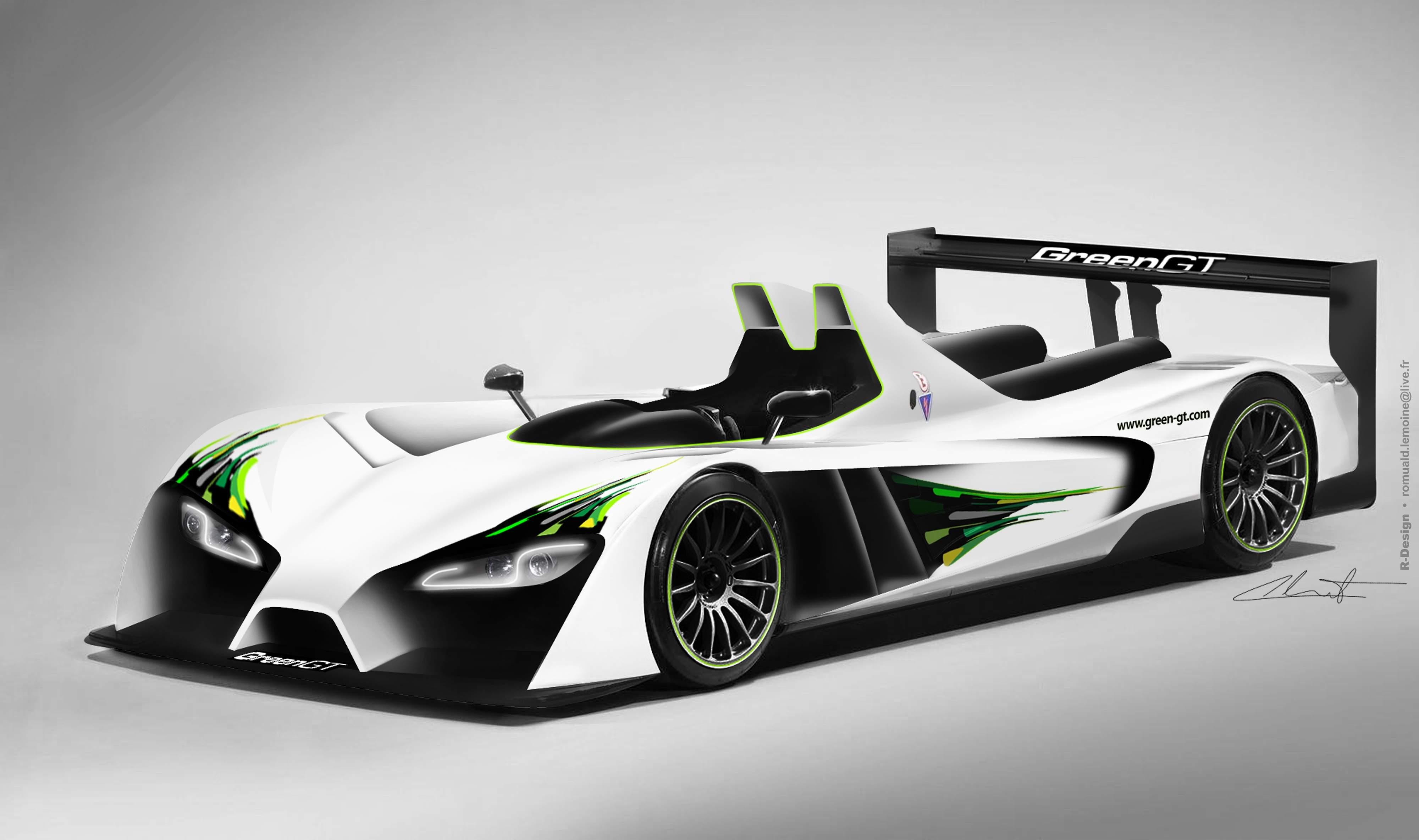greengt lmph2 hydrogen racer to run 2012 le mans. Black Bedroom Furniture Sets. Home Design Ideas