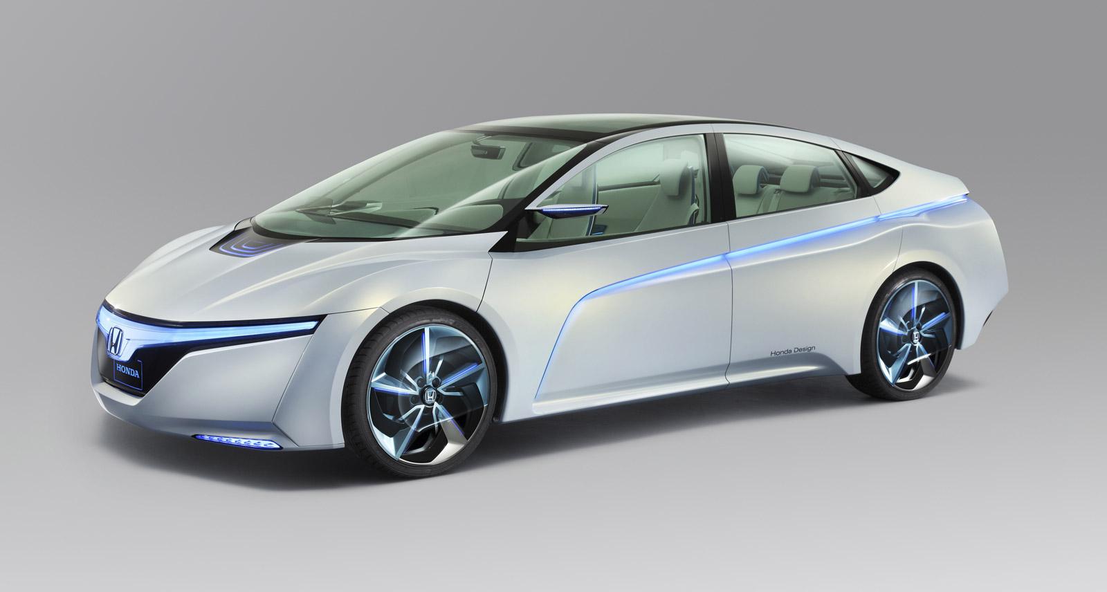2011 Tokyo Motor Show Honda Reveals Electric Car Concepts