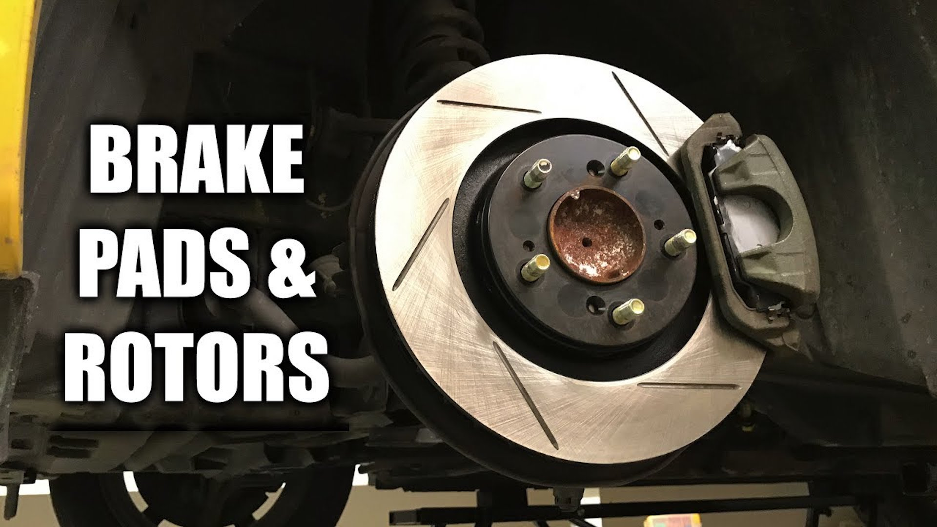 replacing brake pads and rotors it s not as hard as you think. Black Bedroom Furniture Sets. Home Design Ideas