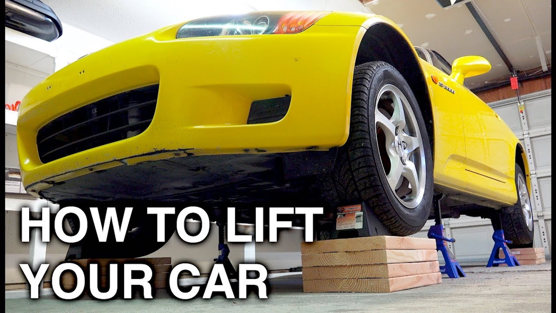 How To Safely Lift Your Car Off The Ground With Jack Stands