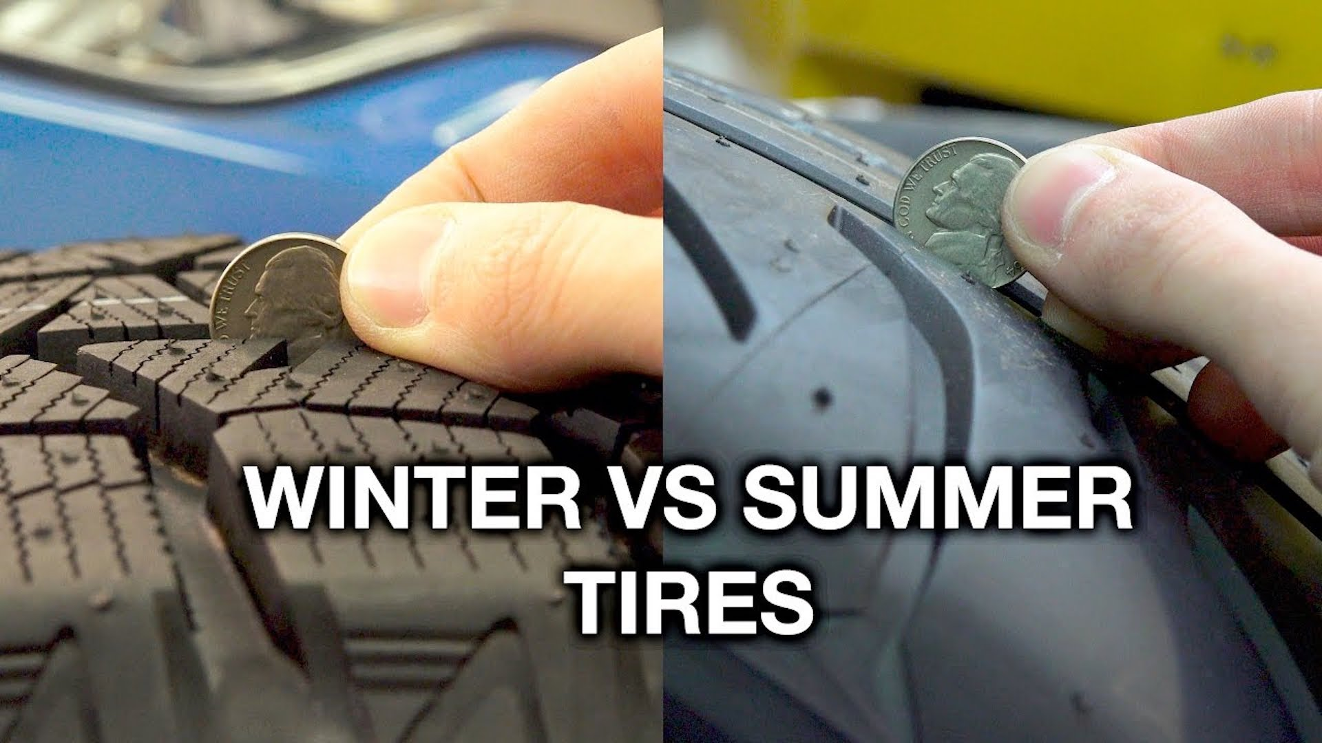 how winter tires differ from summer tires. Black Bedroom Furniture Sets. Home Design Ideas