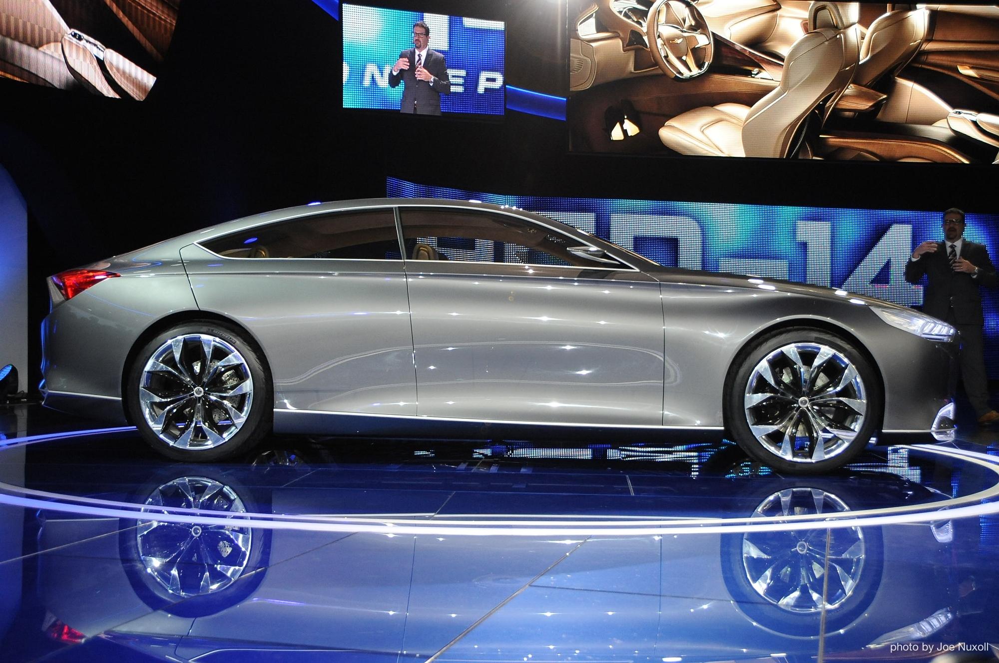 Hyundai HCD-14 Genesis Concept: The Future Of Hyundai's ...