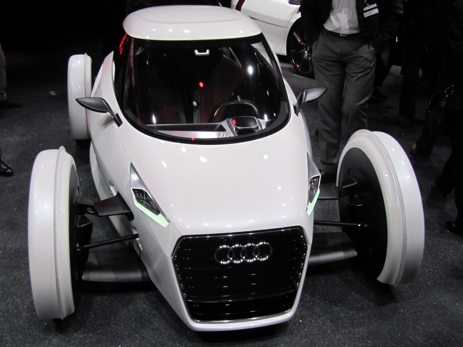 audi urban concept  live photos of electric two