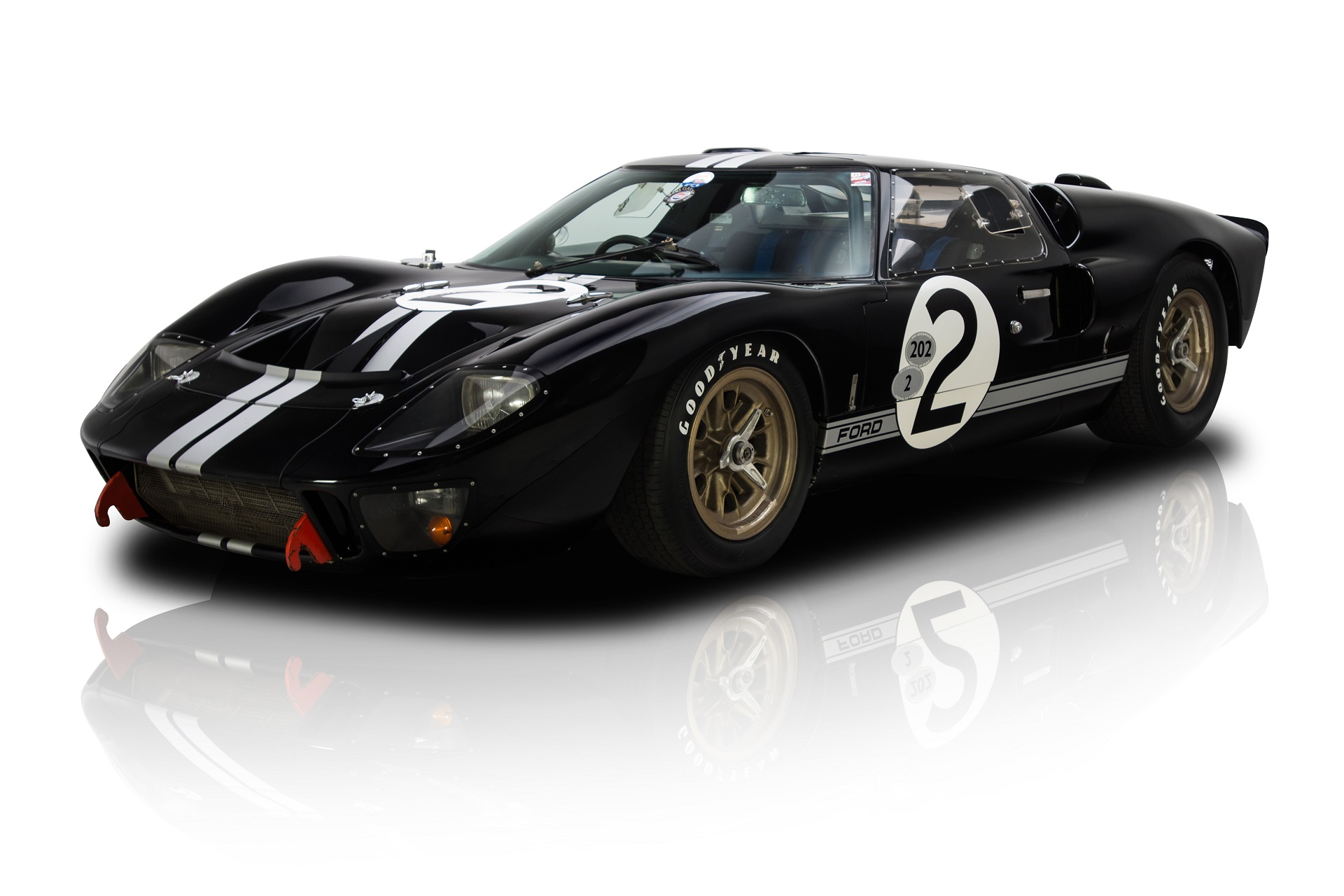 1966 Le Mans-winning Ford GT40 restoration video, part one