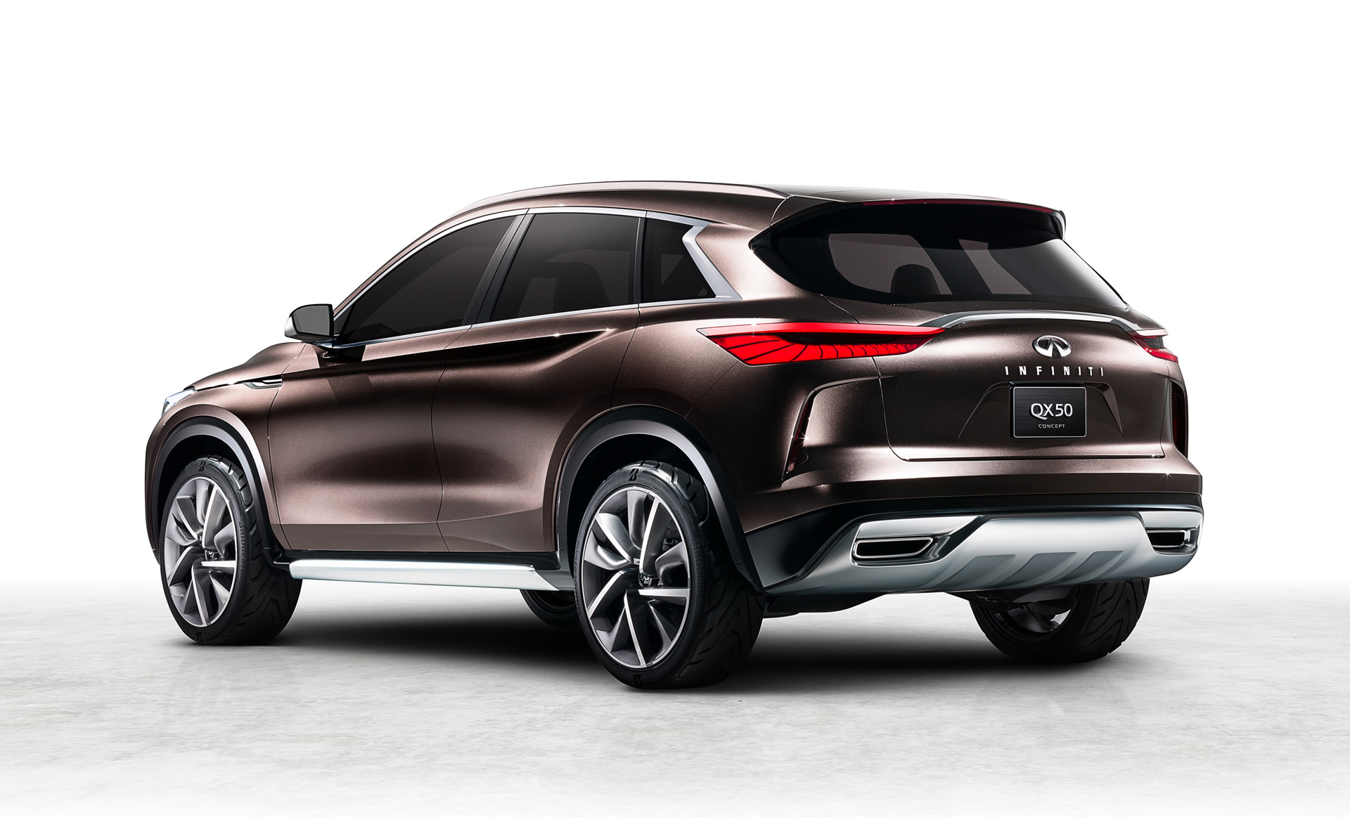Used Cars Baltimore >> Infiniti previews next-gen QX50 with concept car