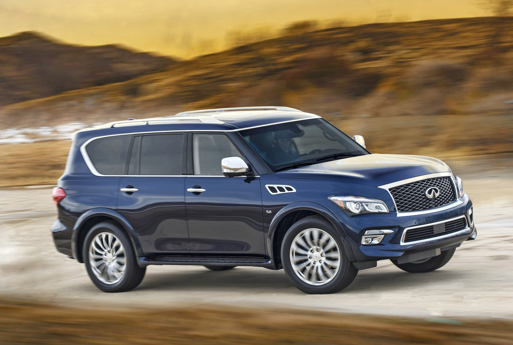 Used Fiat Columbus >> 2015 INFINITI QX80 Review, Ratings, Specs, Prices, and Photos - The Car Connection