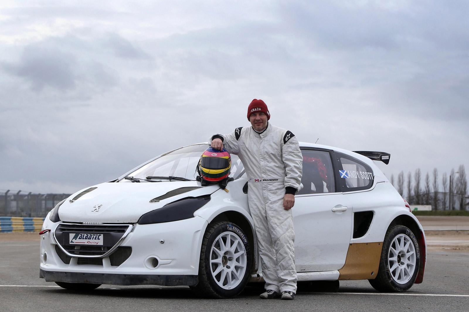 Former F1 Champ Jacques Villeneuve Joins World Rallycross Championship