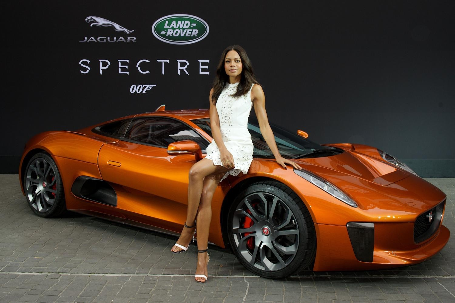 Jaguar Land Rover's Fleet Of Cars From James Bond Movie 'Spectre' Roll ...