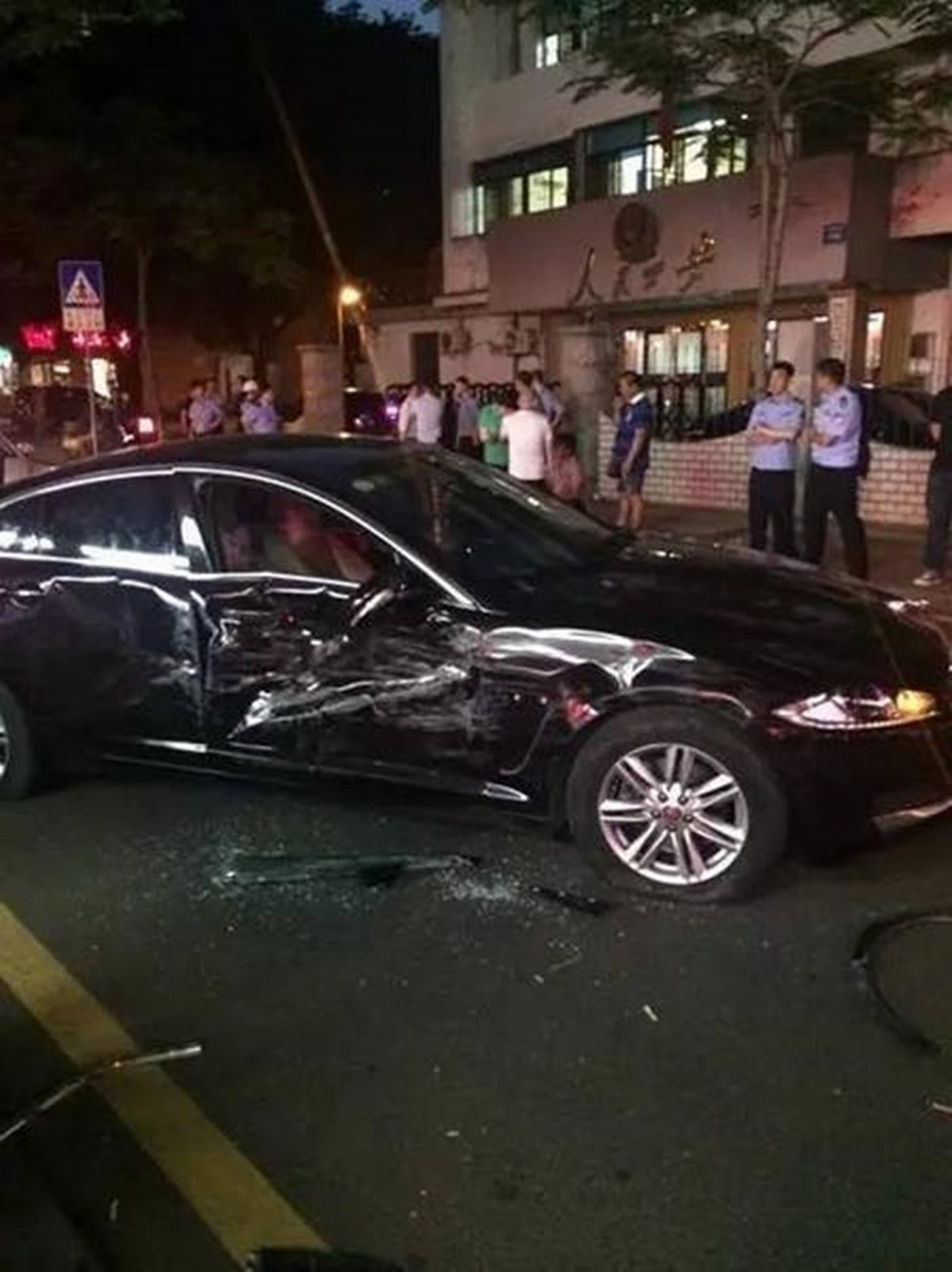 Woman In China Uses Car To Smash Her Way Out Of Blocked