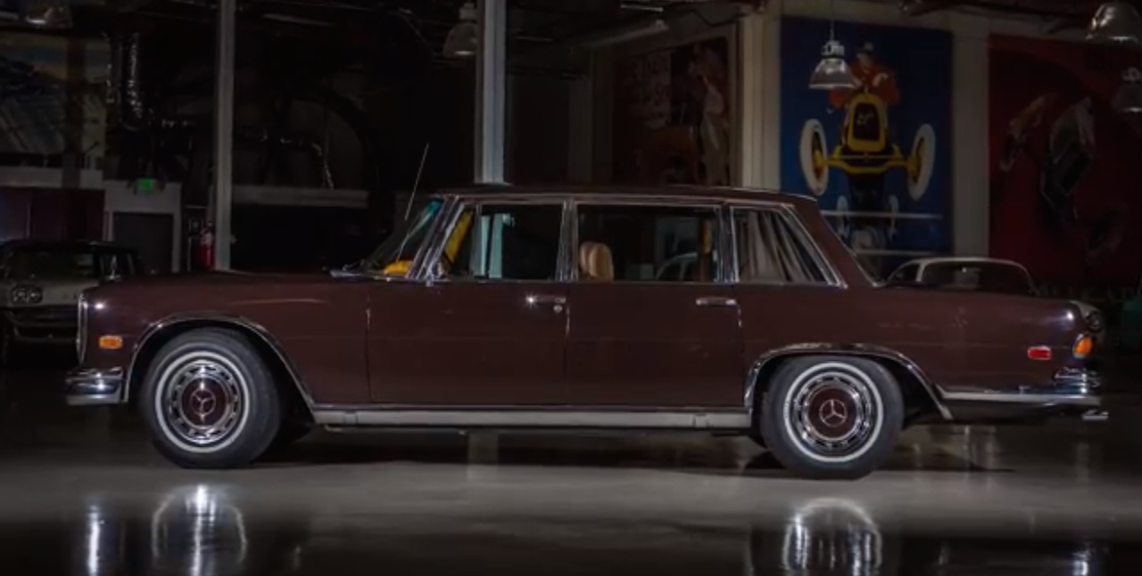 Jay Leno Plays Dictator In His 1972 Mercedes Benz 600 Video