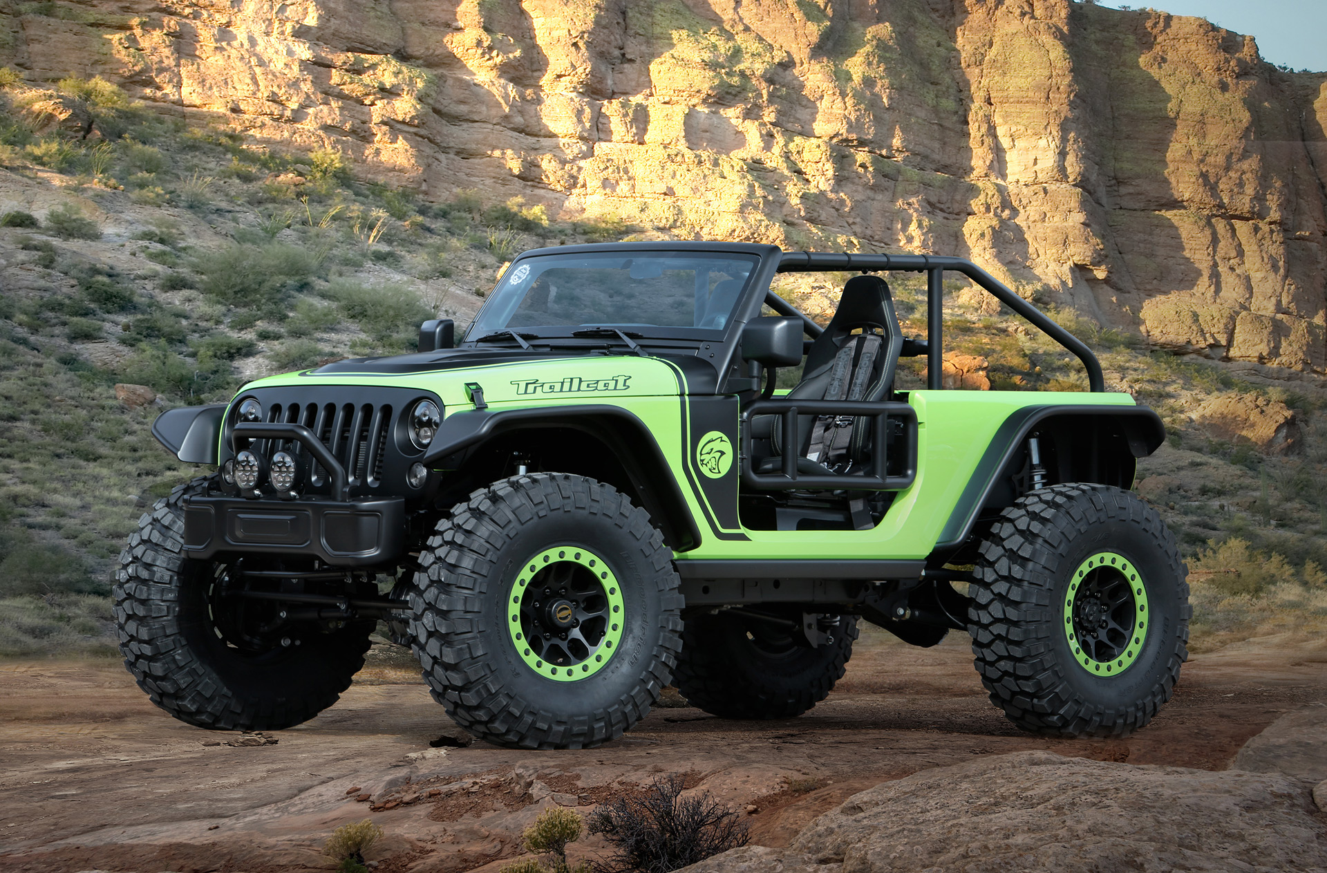 Jeep Grand Cherokee Off Road Bumper >> Hellcat-powered Wrangler heads to Moab for 2016 Easter ...