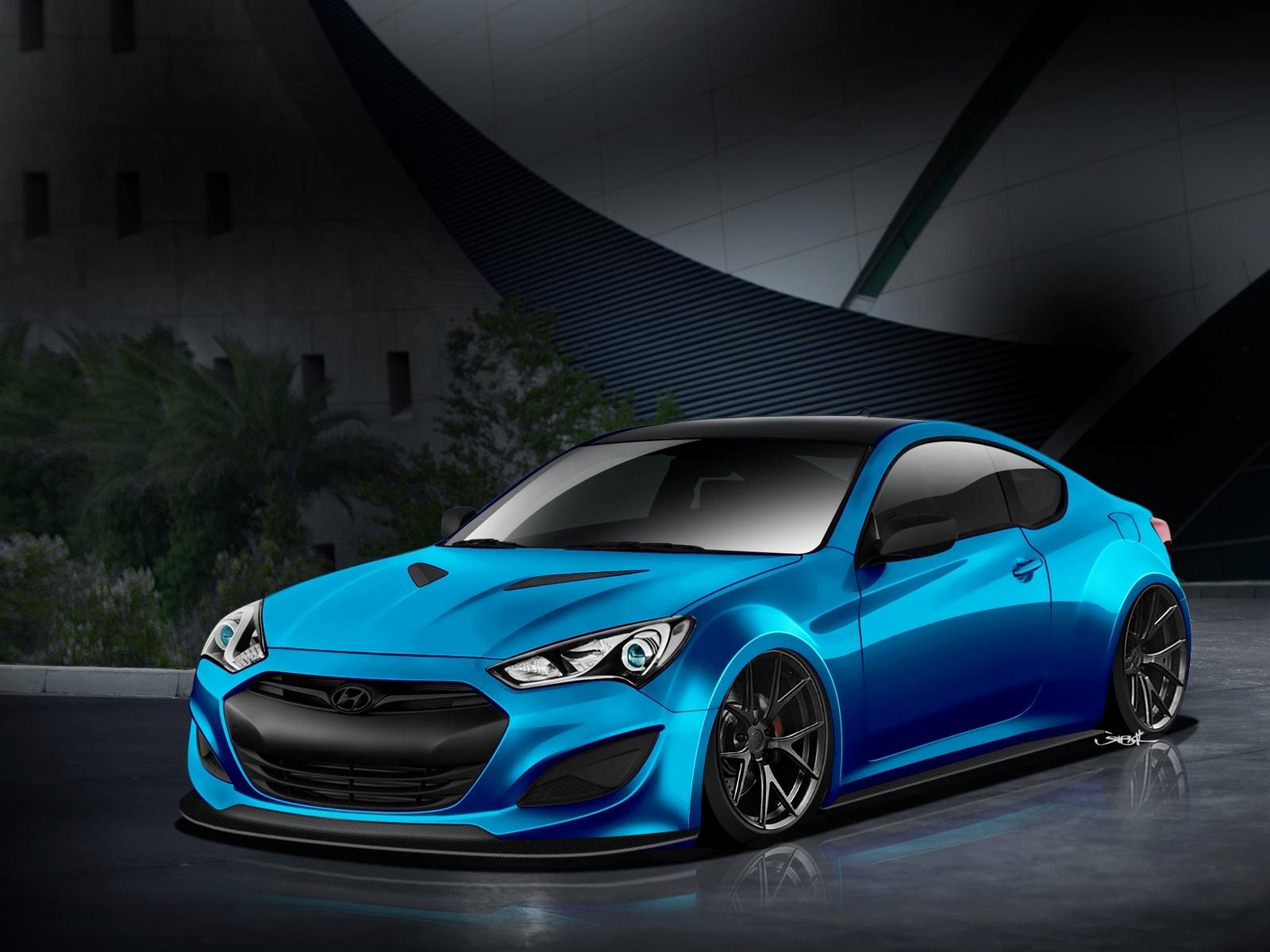 2017 Nissan Altima Sv >> Atlantic Blue Hyundai Genesis Coupe Will Make Waves At SEMA
