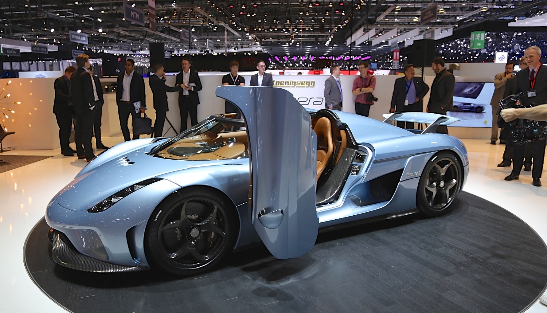 First Look At Koenigsegg Regera 1 500 Hp From Direct