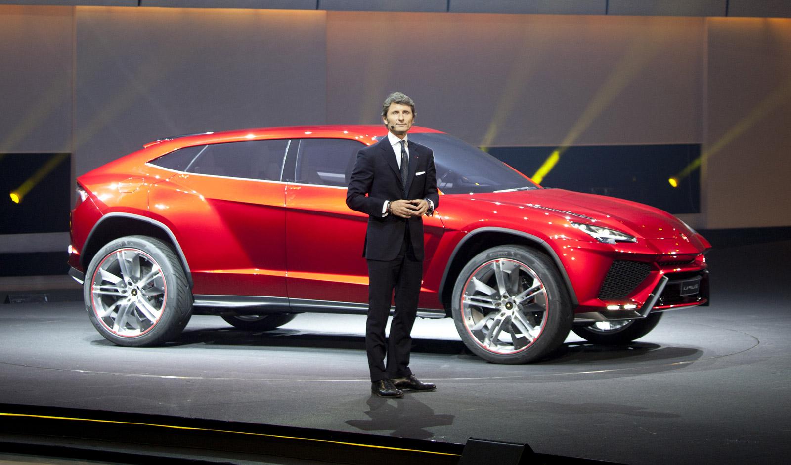 Lamborghini Suv Confirmed Sales To Start In 2018