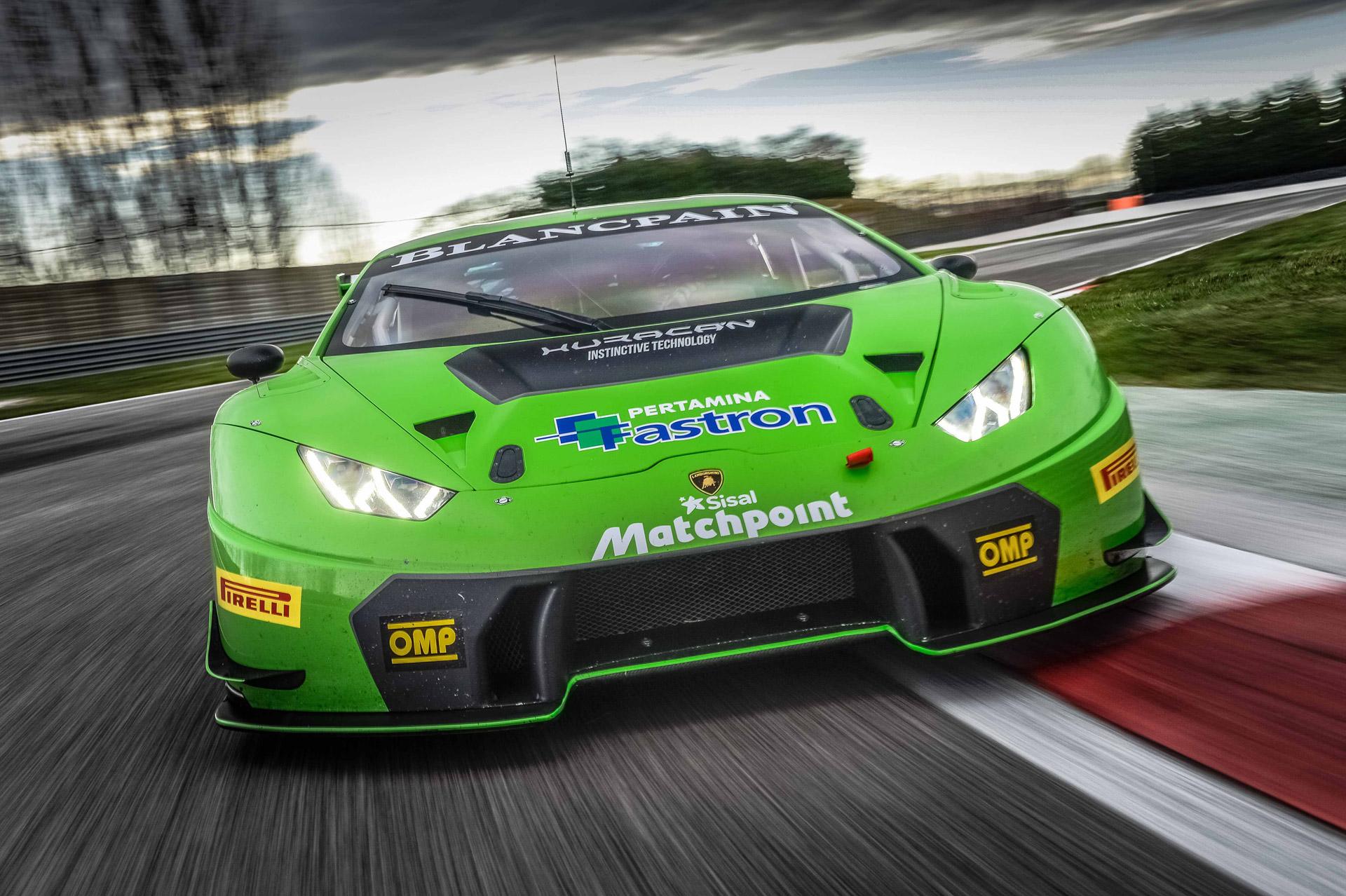 Lamborghini Hurac 225 N Gt3 To Make North American Debut At