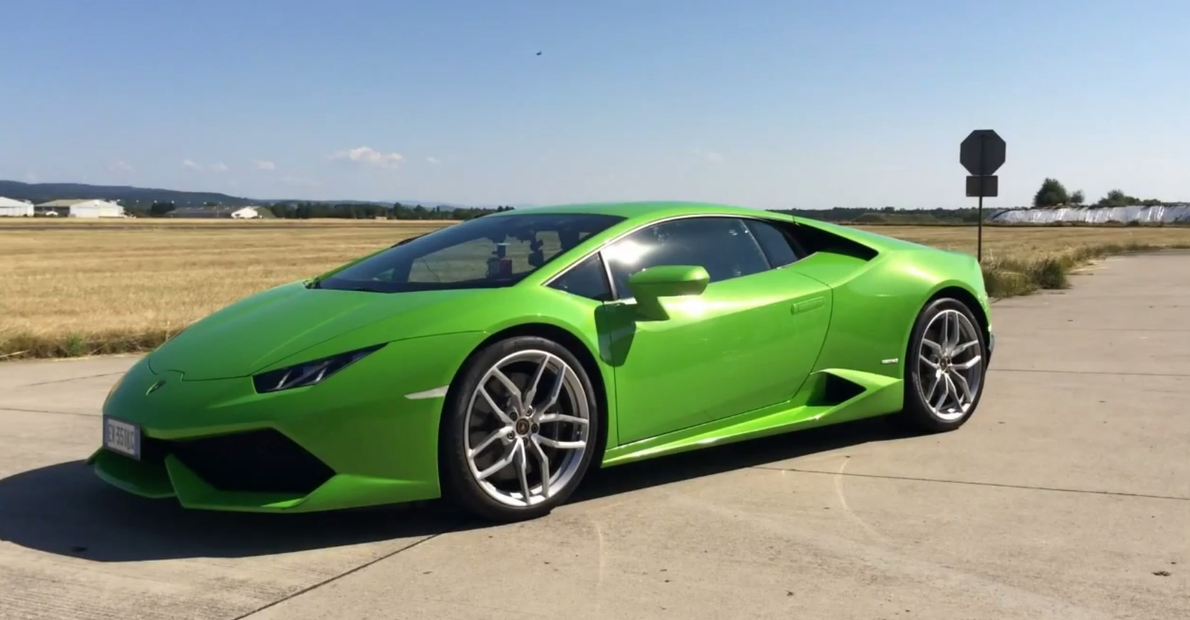 lamborghini huracan    mph  launch control test video
