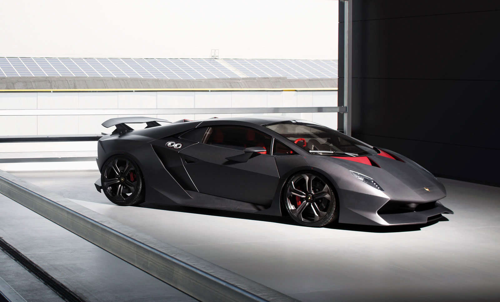 lamborghini sesto elemento hits the track video. Black Bedroom Furniture Sets. Home Design Ideas