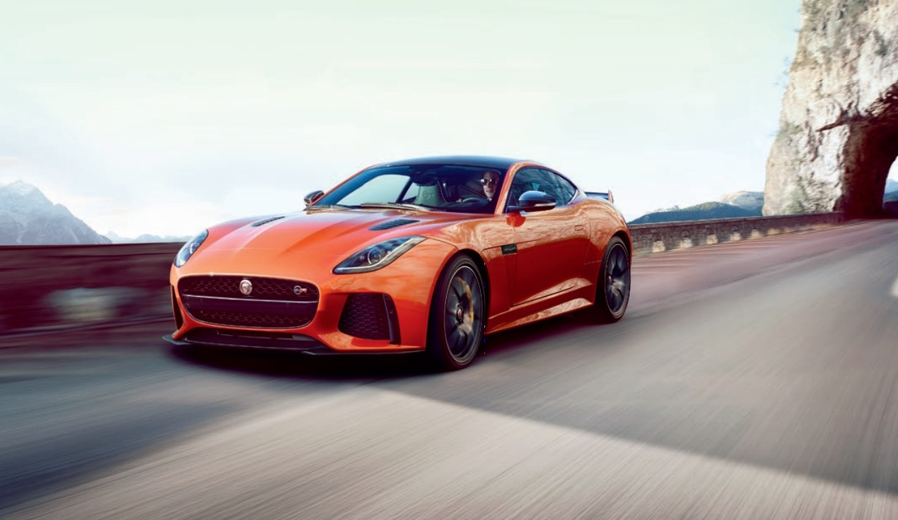 575 Horsepower 2017 Jaguar F Type Svr Leaks Ahead Of Geneva Motor Show