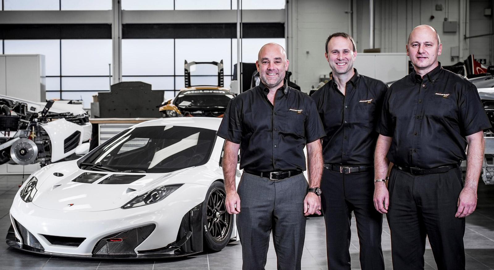 White Dodge Challenger >> F1 Engineers Join McLaren GT