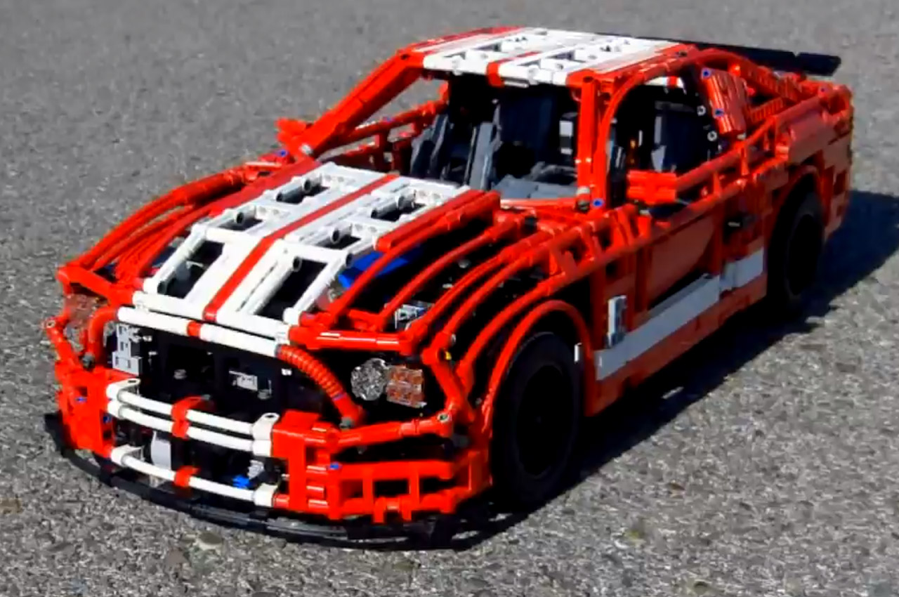 lego shelby gt500 is no toy. Black Bedroom Furniture Sets. Home Design Ideas