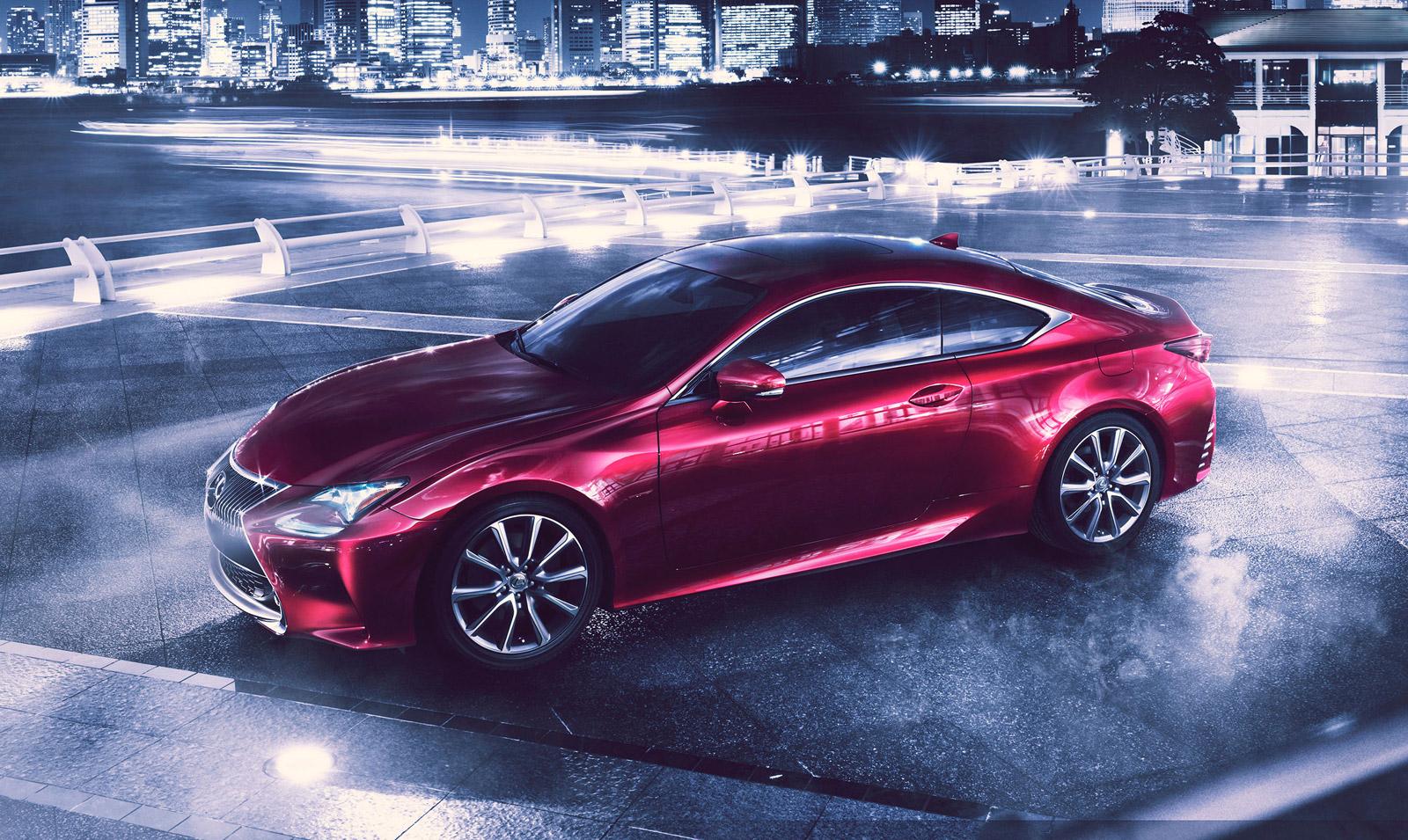 lexus rc 300h hybrid coupe to debut at tokyo motor show. Black Bedroom Furniture Sets. Home Design Ideas