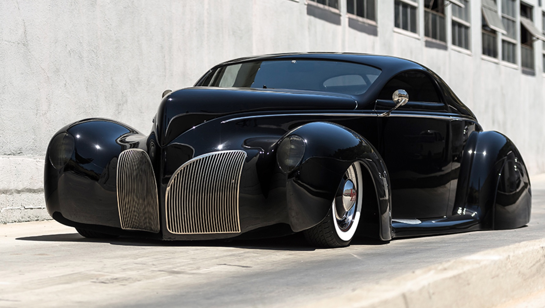 1939 lincoln zephyr coupe heading to auction not