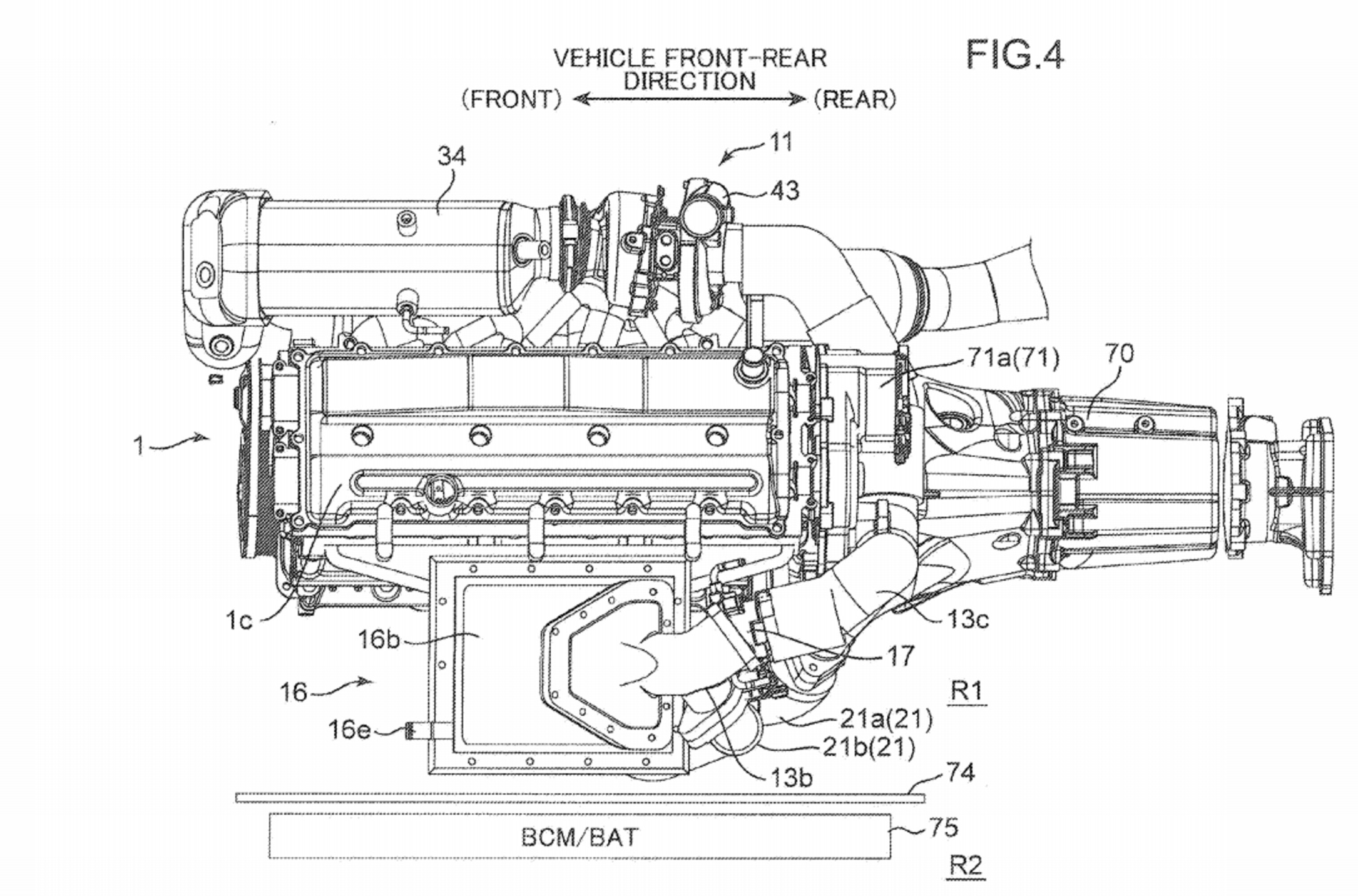 mazda patents engine with two turbos and an electric supercharger