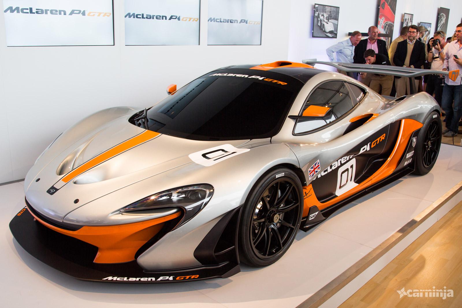 McLaren P1 GTR: 2014 Pebble Beach Concours Live Photos