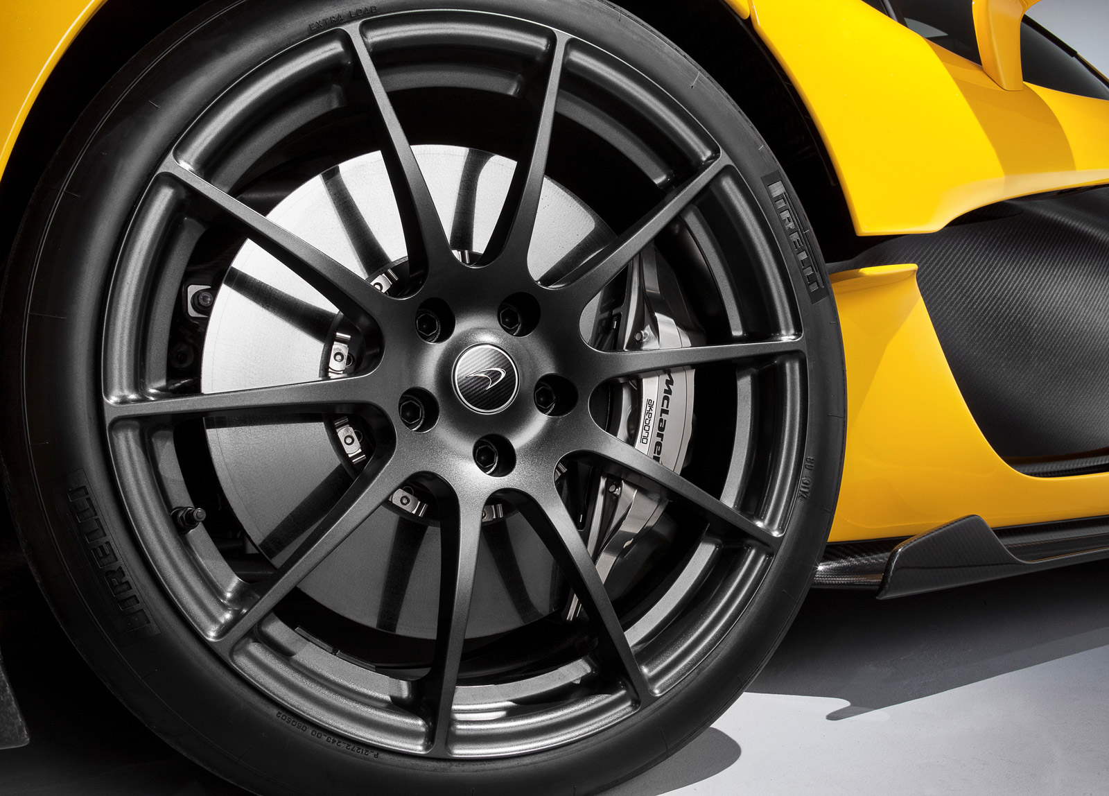 How The Mclaren P1 Puts Its Power Down Bespoke Pirelli