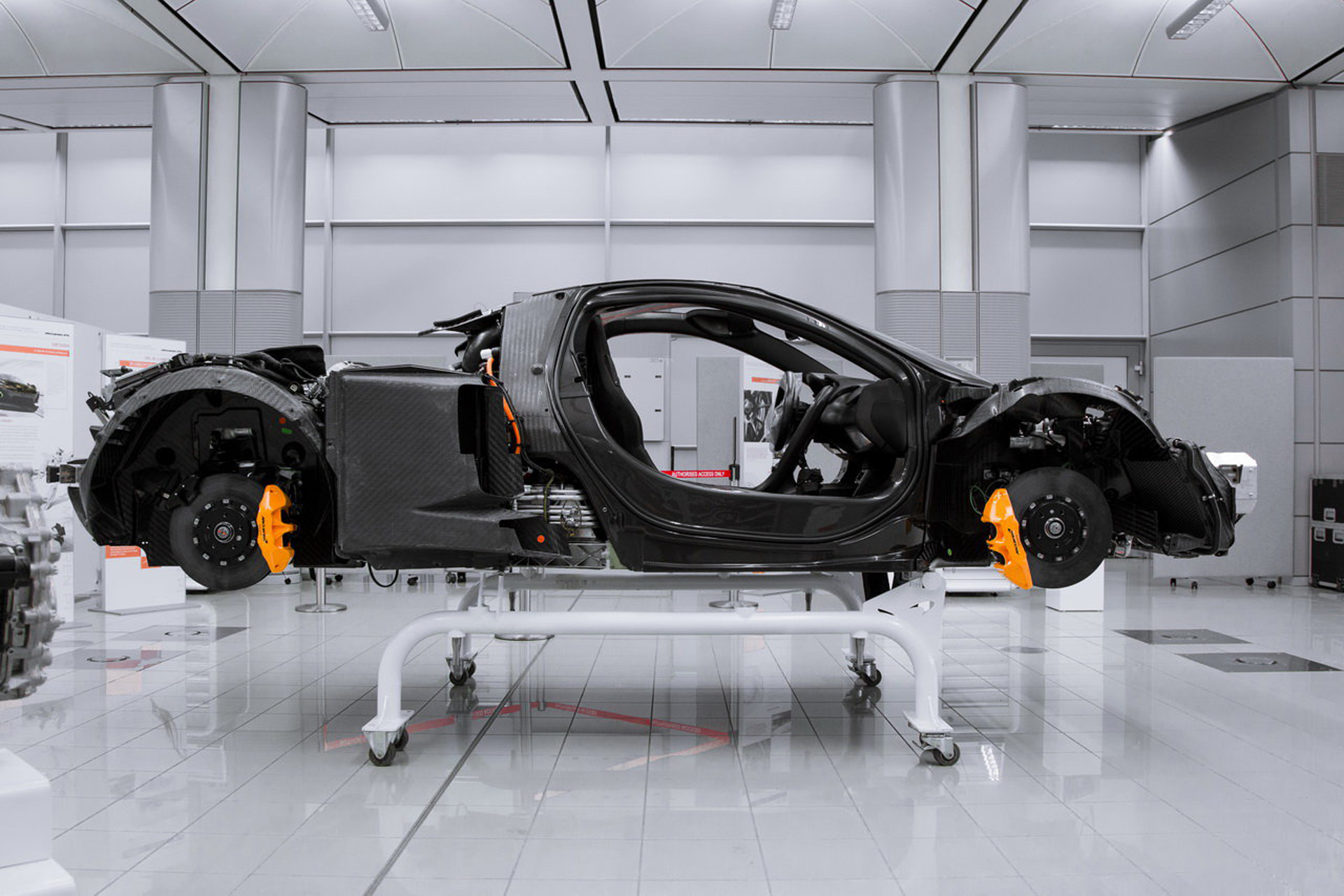 McLaren developing next-generation carbon tub and powertrain