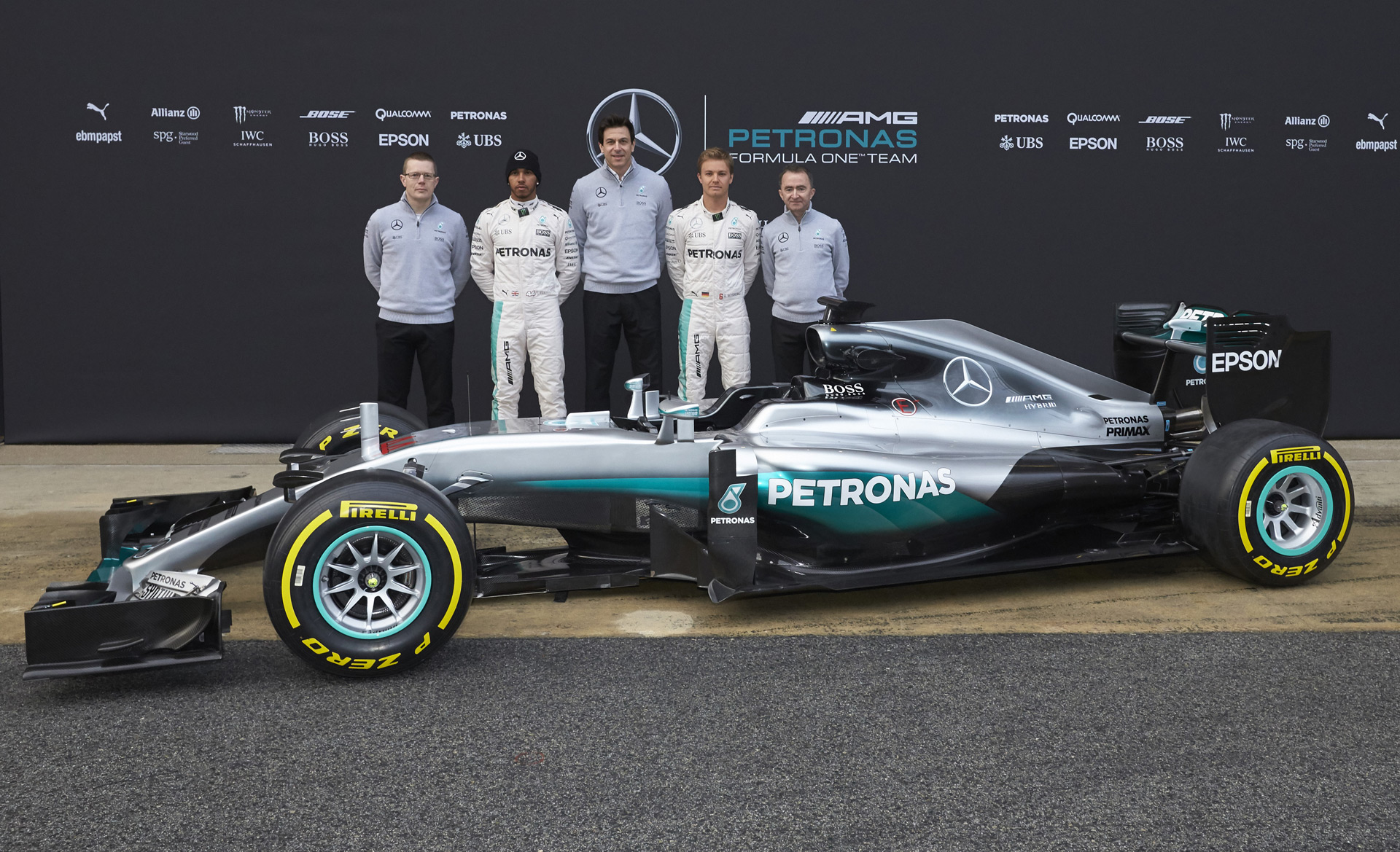 mercedes car for the 2016 formula one season is the w07 video. Black Bedroom Furniture Sets. Home Design Ideas