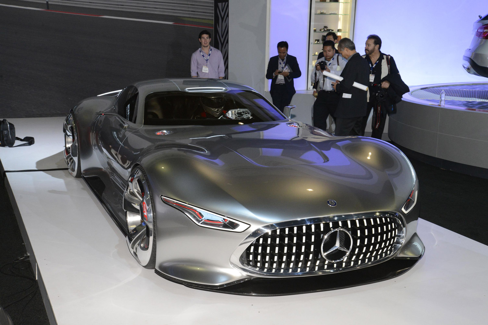 Did you like the mercedes benz gran turismo concept want for Who buys mercedes benz